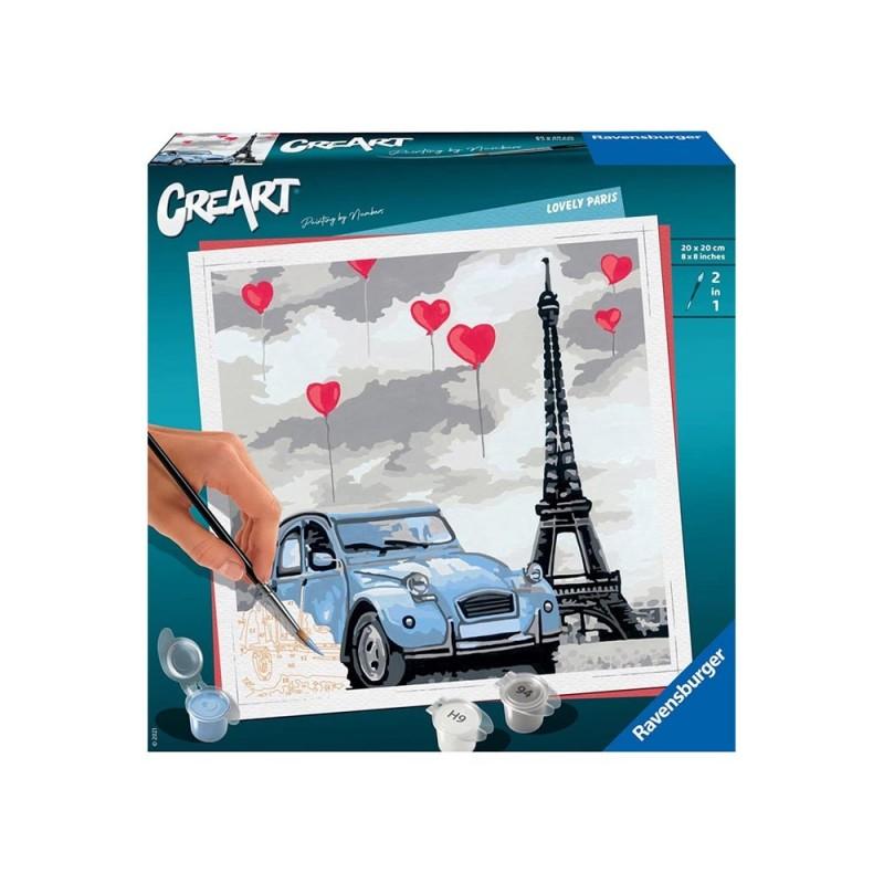 Gioco Creativo CreArt Parigi - Ravensburger  - MazzeoGiocattoli.it