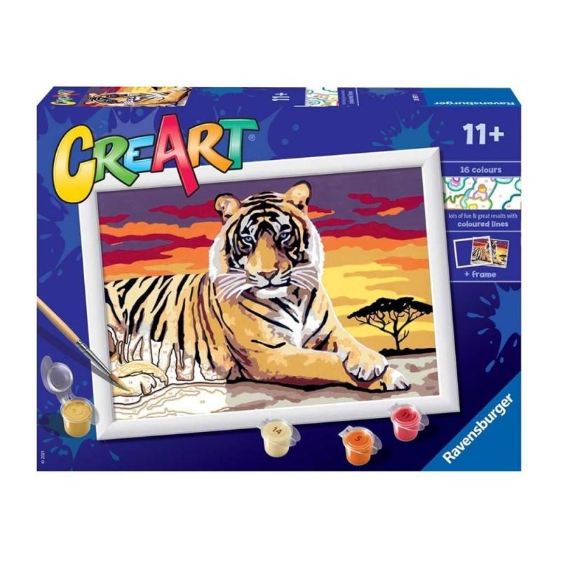 Gioco Creativo CreArt Tigre - Ravensburger - MazzeoGiocattoli.it