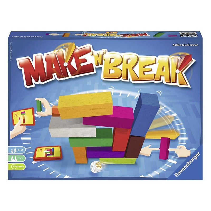 Gioco Di Società Make' N' Break - Ravensburger - MazzeoGiocattoli.it