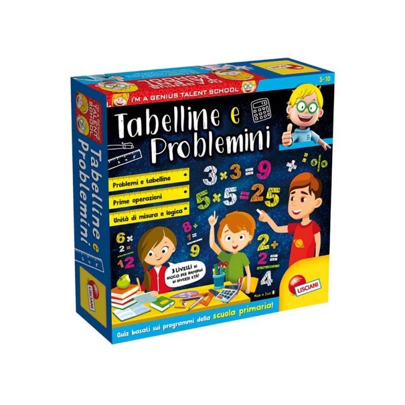 Gioco Educativo Tabelline E Problemini - Lisciani  - MazzeoGiocattoli.it