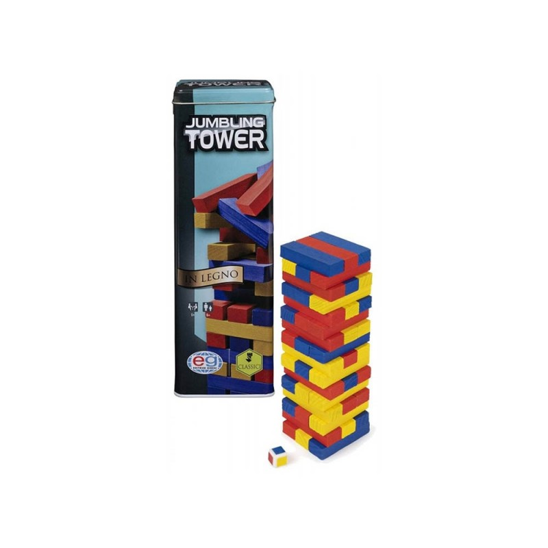 Gioco Jumbling Tower - Spin Master  - MazzeoGiocattoli.it