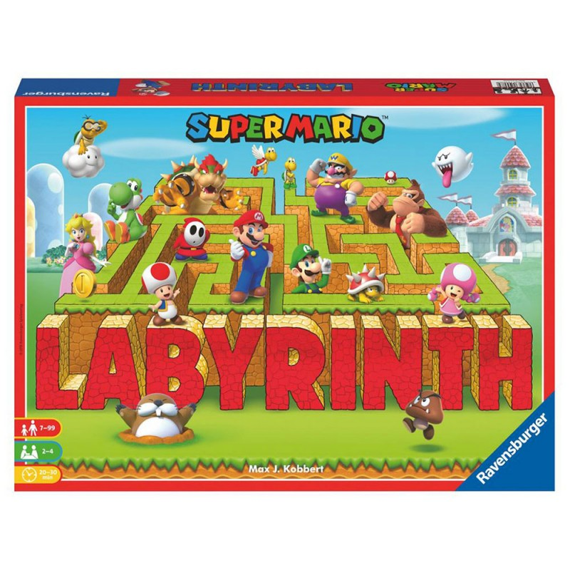 Gioco Labyrinth Super Mario - Ravensburger  - MazzeoGiocattoli.it