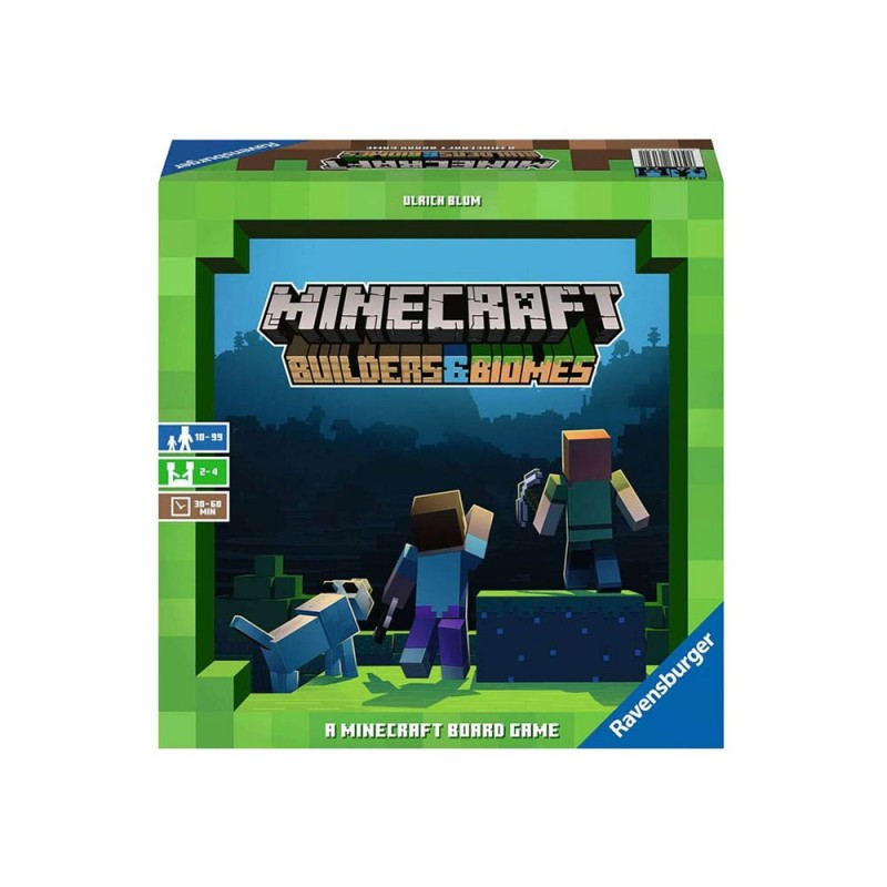 Gioco Minecraft Builders & Biomes - Ravensburger  - MazzeoGiocattoli.it