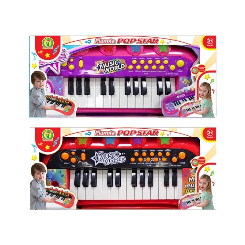 Gioco Musicale Pianola Con Luci E Suoni - Mazzeo Giocattoli  - MazzeoGiocattoli.it