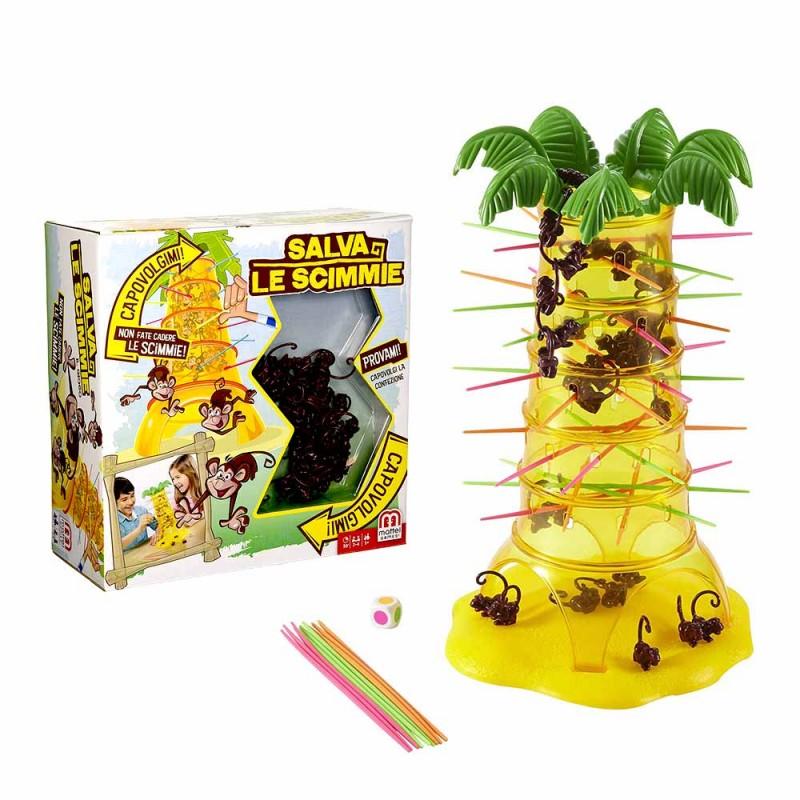 Salva Le Scimmie - Gioco Da Tavolo - Mattel  - MazzeoGiocattoli.it