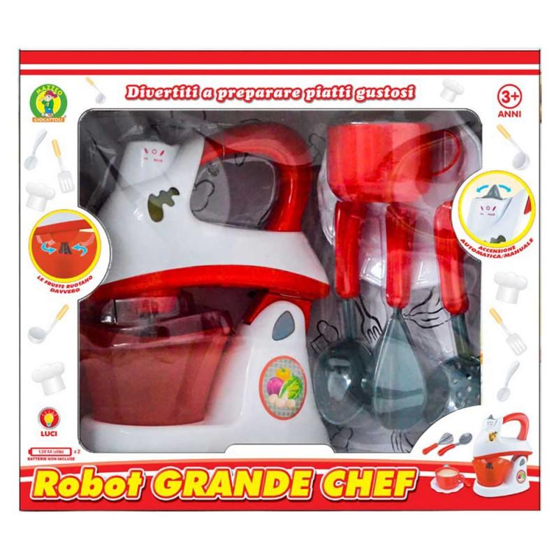 Gioco Robot Da Cucina - Mazzeo Giocattoli  - MazzeoGiocattoli.it