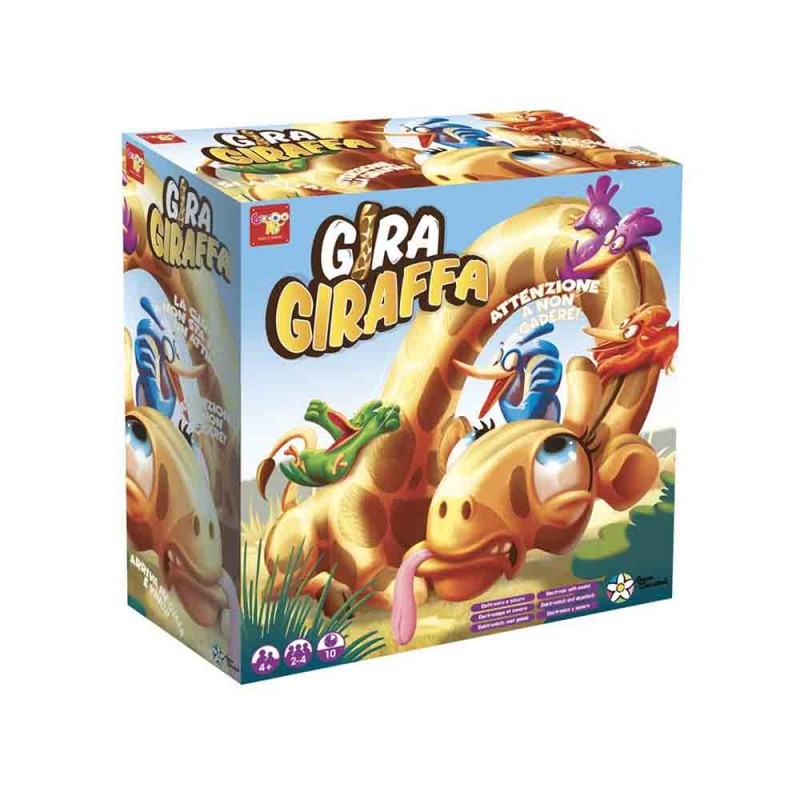 Gira Giraffa, Multicolore - Rocco Giocattoli - MazzeoGiocattoli.it