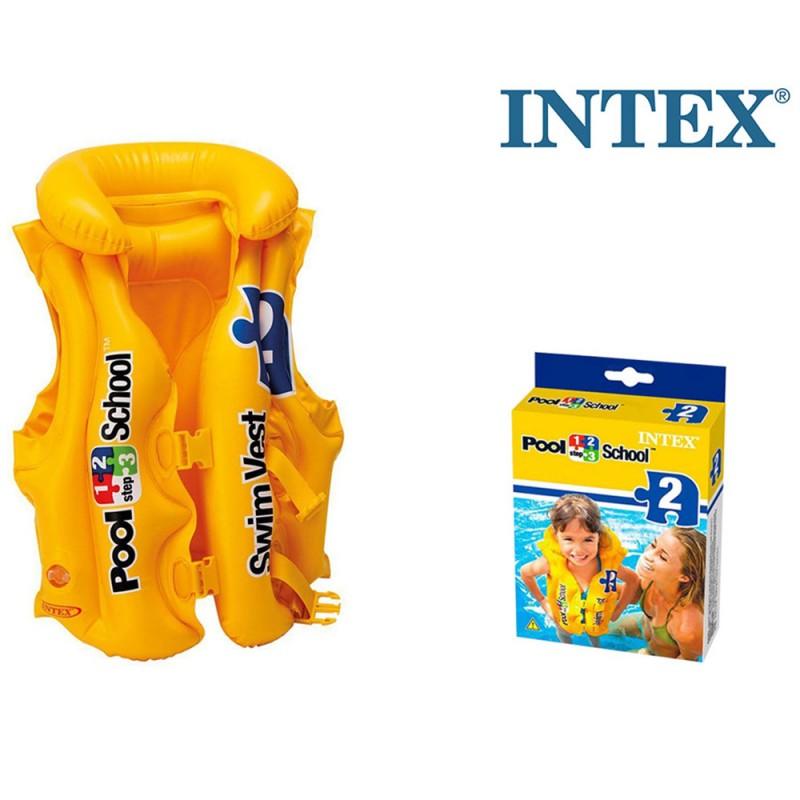 Giubbino Salvagente Pool School - Intex  - MazzeoGiocattoli.it