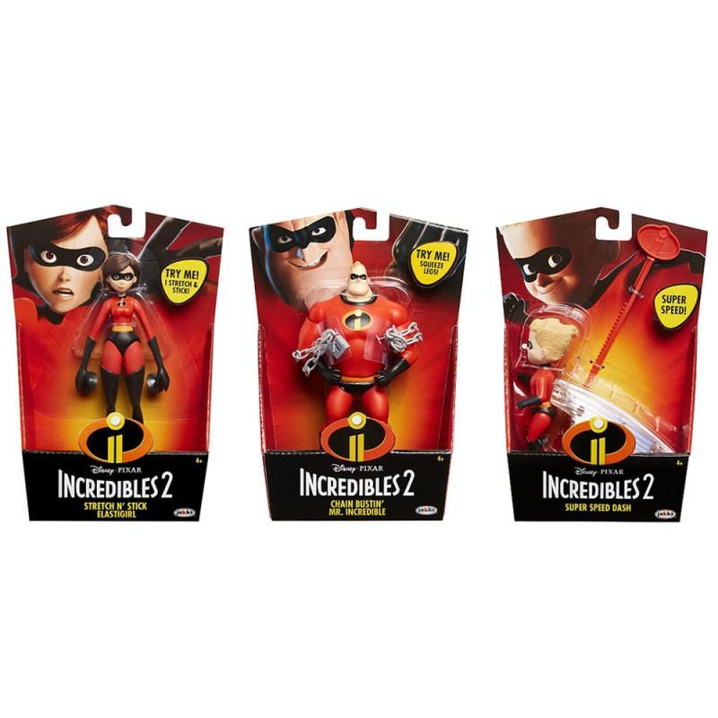 Gli Incredibili 2 Personaggi - Jakks Pacific - MazzeoGiocattoli.it