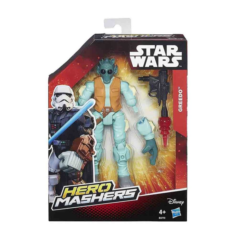 Greedo Hero Mashers Figura Star Wars - Hasbro  - MazzeoGiocattoli.it