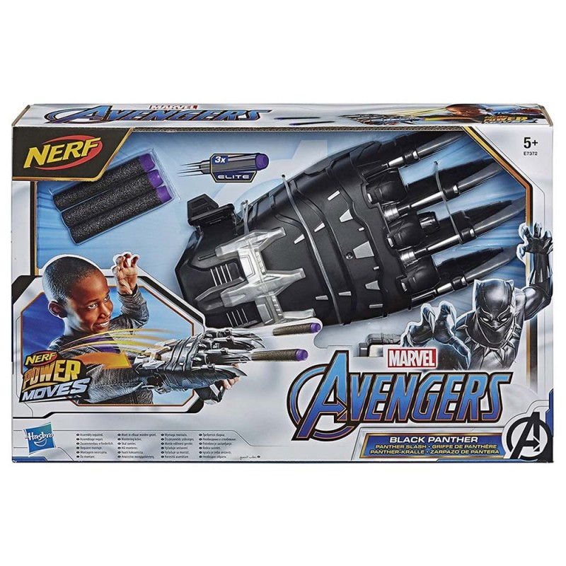 Avengers Power Moves Black Panther - Hasbro - MazzeoGiocattoli.it