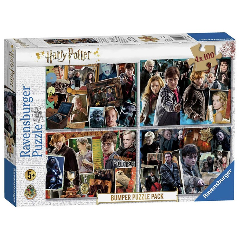 Harry Potter Puzzle Pack 4x100 - Ravensburger - MazzeoGiocattoli.it