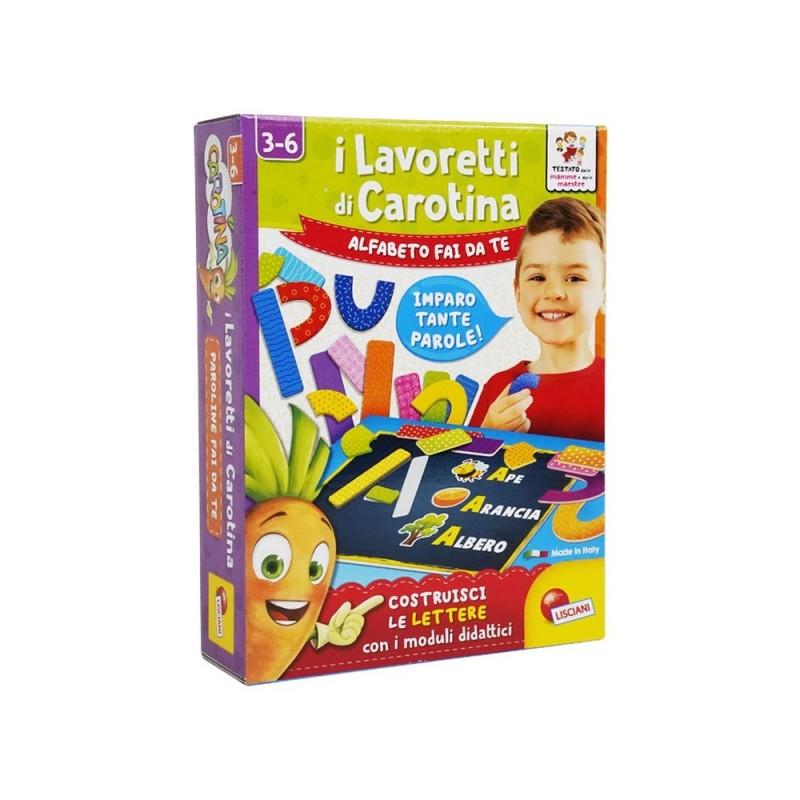 I Lavoretti Di Carotina - Lisciani  - MazzeoGiocattoli.it