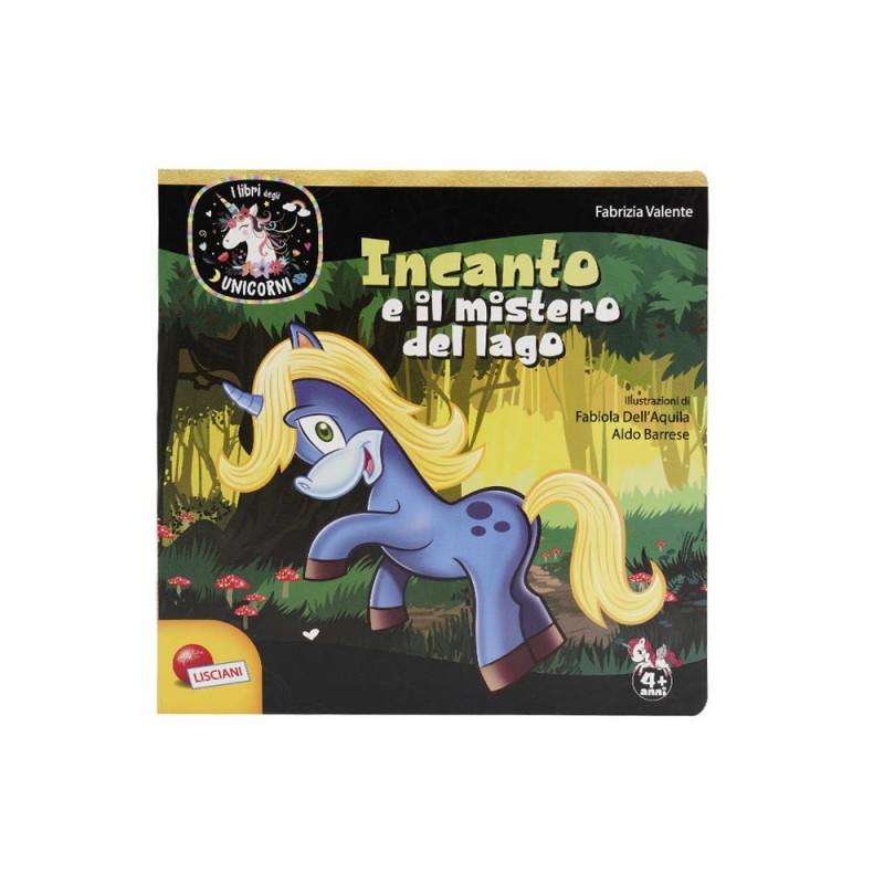 I Libri Degli Unicorni - Incanto E Il Mistero Del Lago - Lisciani  - MazzeoGiocattoli.it