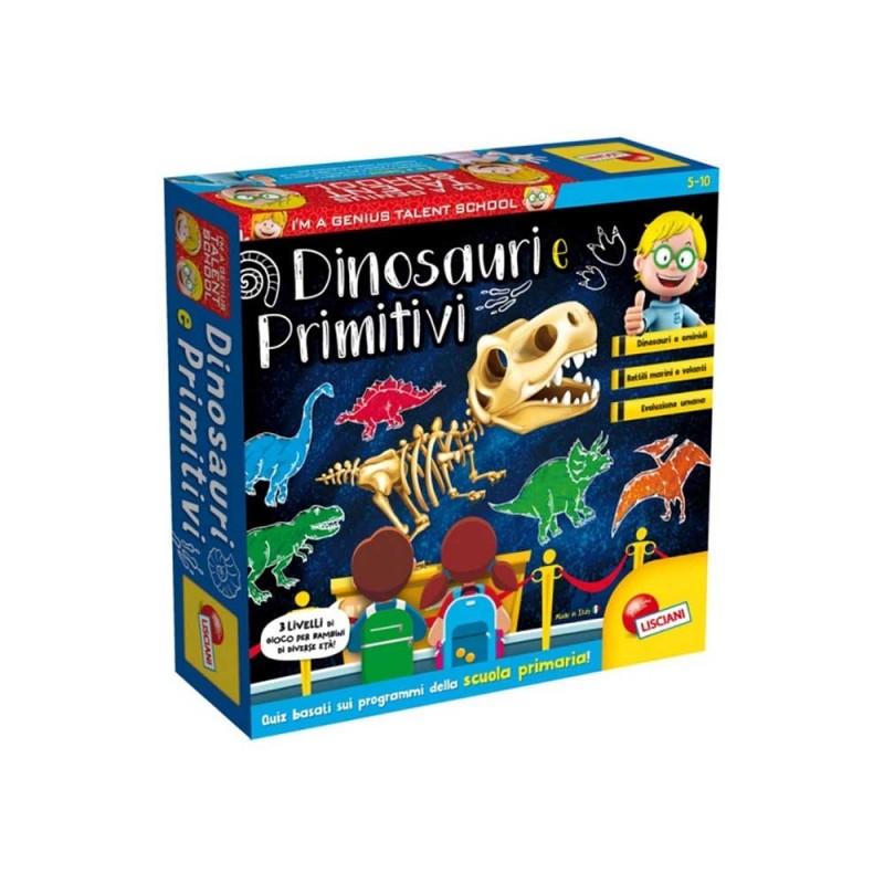 I'm A Genius Dinosauri E Primitivi - Lisciani - MazzeoGiocattoli.it