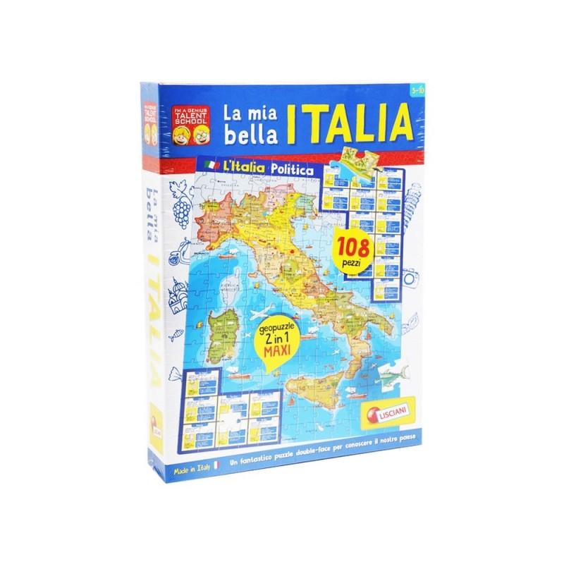 I'm A Genius La Mia Bella Italia - Lisciani - MazzeoGiocattoli.it