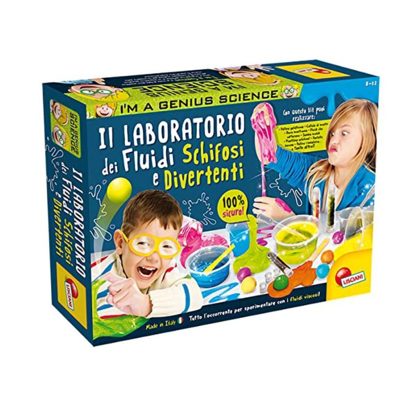 I'm A Genius Laboratorio Dei Fluidi Schifosi - Lisciani  - MazzeoGiocattoli.it