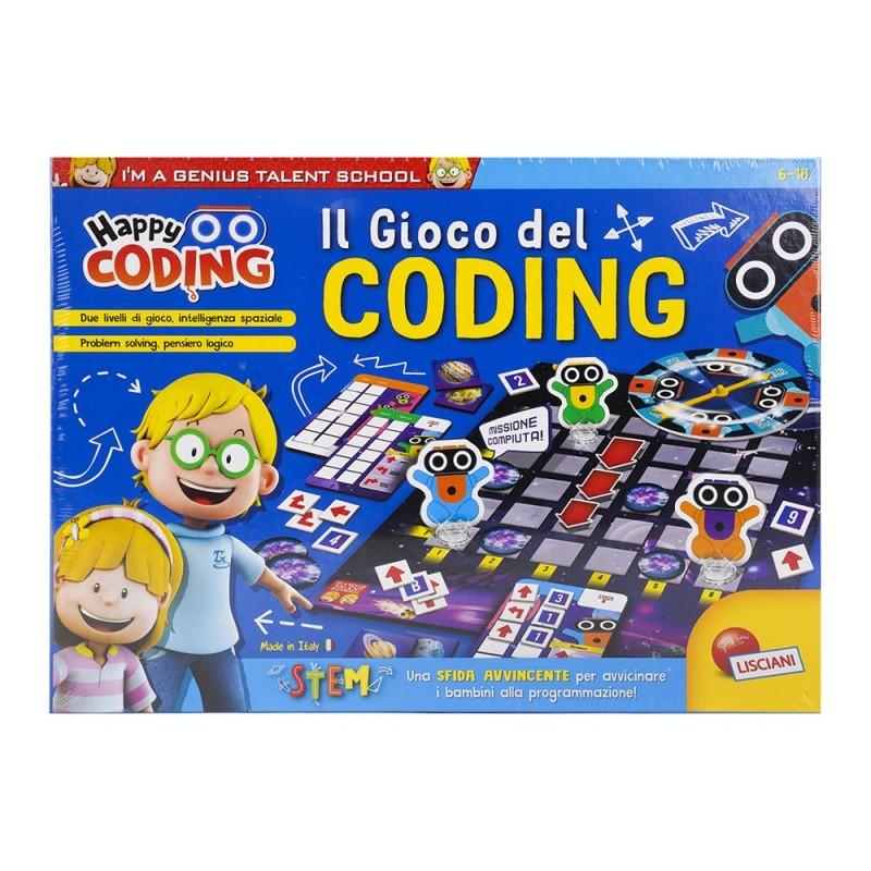 I'm Genius Happy Il Gioco Del Coding - Lisciani  - MazzeoGiocattoli.it