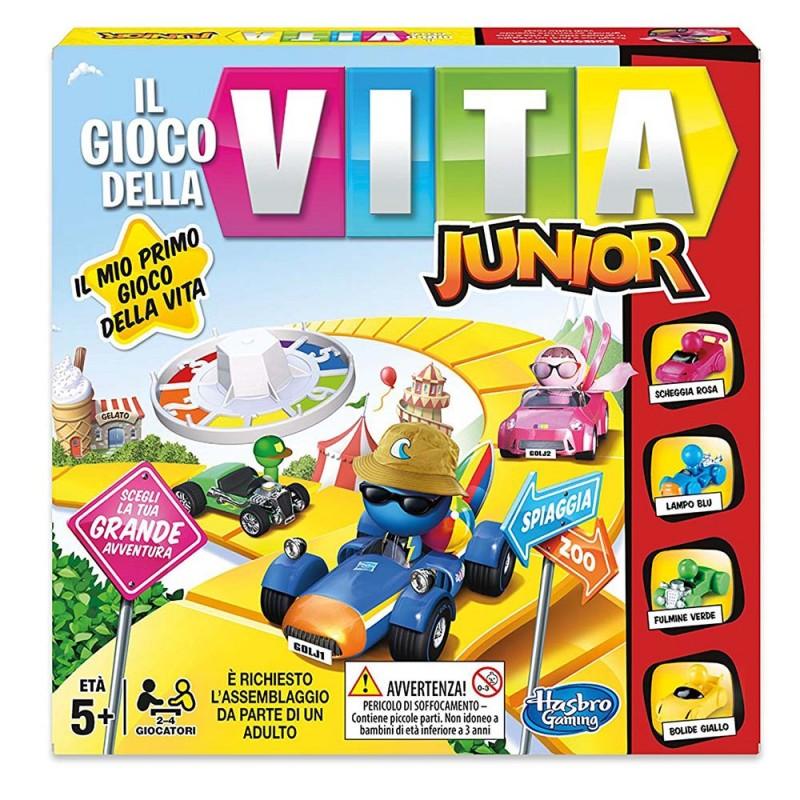Il Gioco Della Vita Junior Hasbro Gaming - MazzeoGiocattoli.it