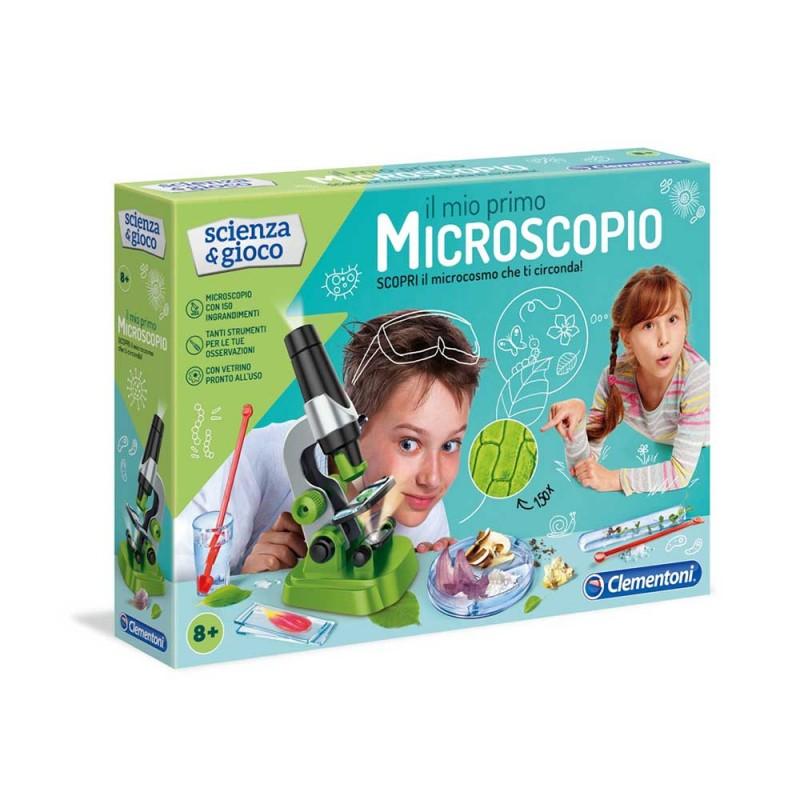 Il Mio Primo Microscopio - Clementoni  - MazzeoGiocattoli.it