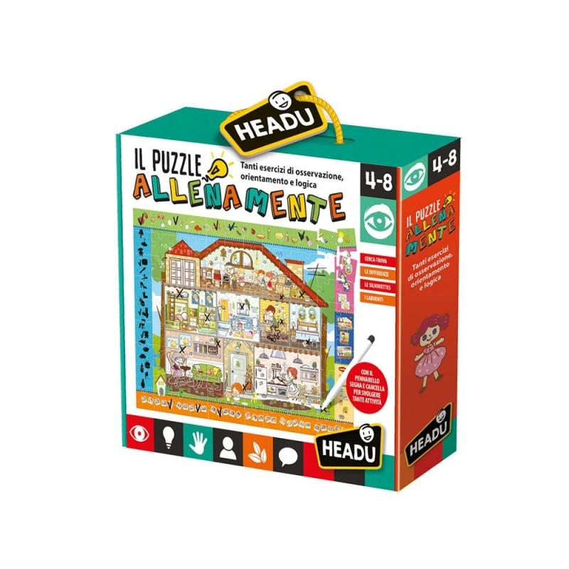 Il Puzzle Allena Mente - Headu  - MazzeoGiocattoli.it