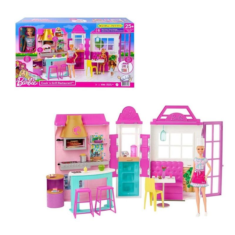 Il Ristorante Di Barbie Con Accessori - Mattel  - MazzeoGiocattoli.it
