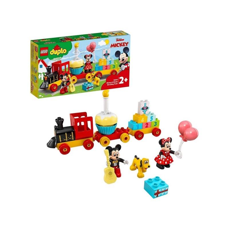 Il Treno Del Compleanno Di Topolino E Minnie - Lego Duplo  - MazzeoGiocattoli.it