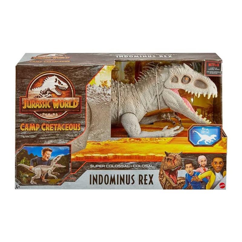 Dinosauro Indominus Rex Jurassic World - Mattel - MazzeoGiocattoli.it