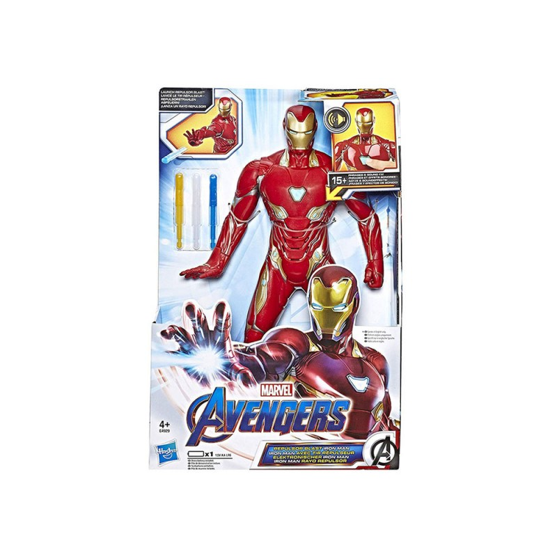 Avengers Personaggio Iron Man - Hasbro  - MazzeoGiocattoli.it