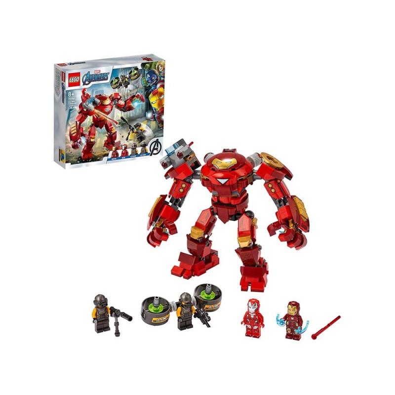 Iron Man HulkBuster Contro L'Agente A.I.M  - Lego  - MazzeoGiocattoli.it