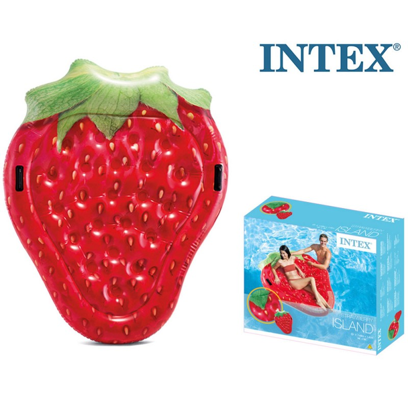 Isola Gonfiabile Fragola 168cm - Intex - MazzeoGiocattoli.it