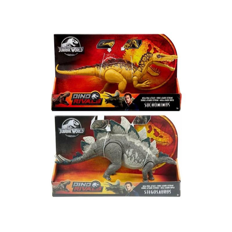 Jurassic World Attacco Doppio - Mattel - MazzeoGiocattoli.it