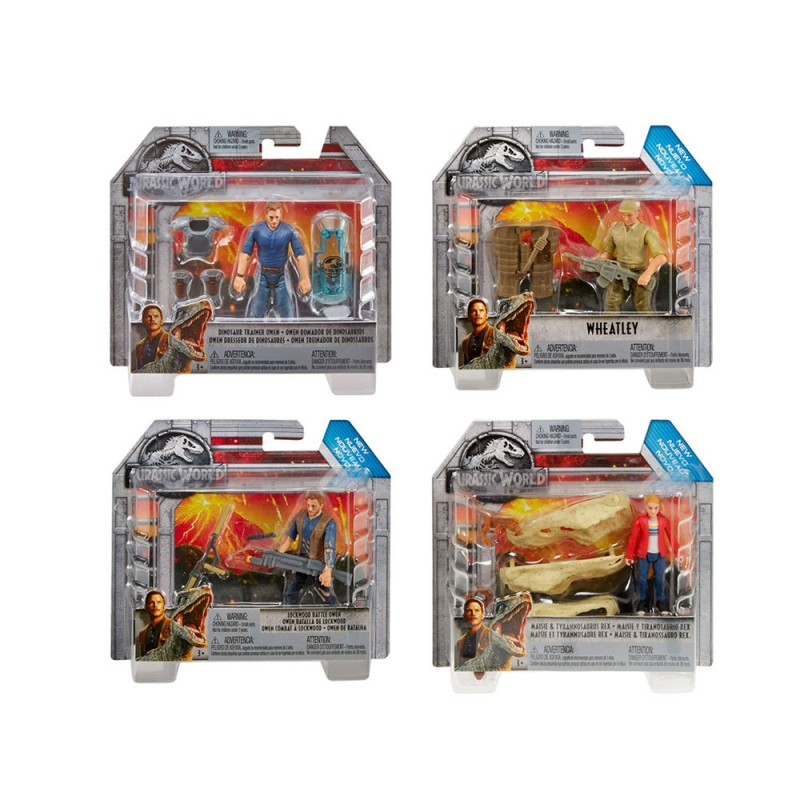 Jurassic World Personaggio Base - Mattel  - MazzeoGiocattoli.it