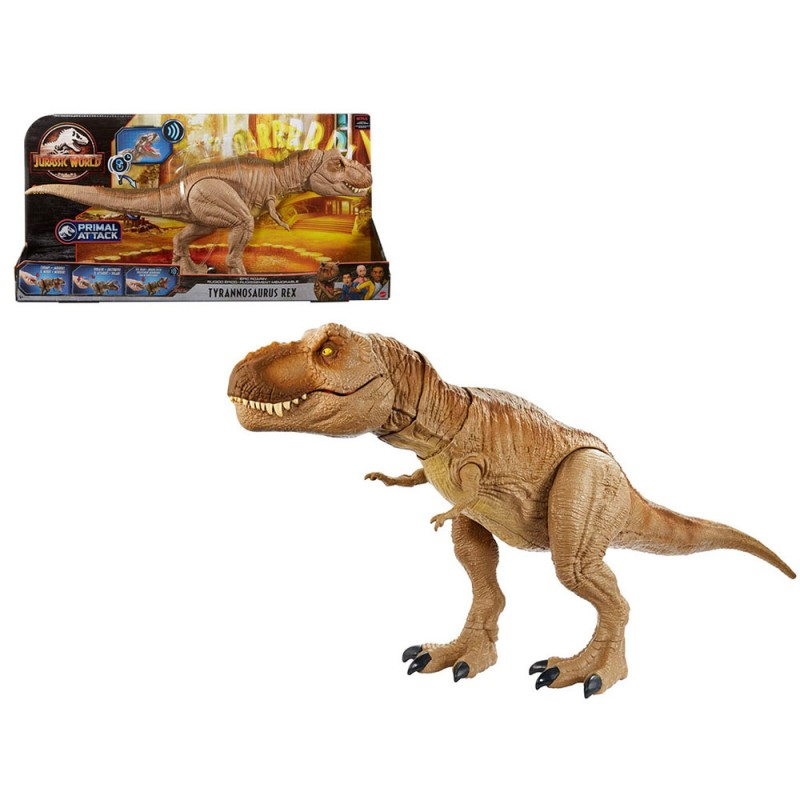 Jurassic World T-Rex - Mattel  - MazzeoGiocattoli.it