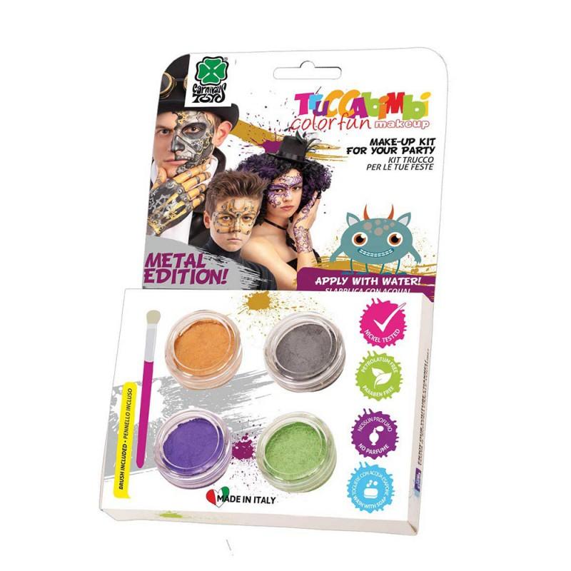 Kit Di Trucchi Per Bambini Colori Metalizzati - MazzeoGiocattoli.it