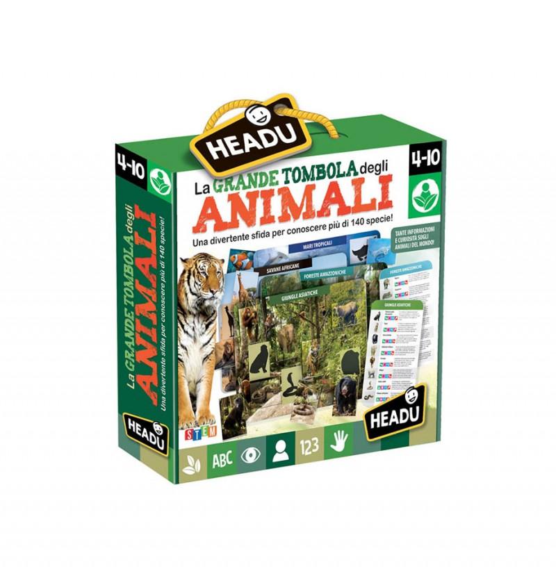 La Grande Tombola Degli Animali - Headu  - MazzeoGiocattoli.it