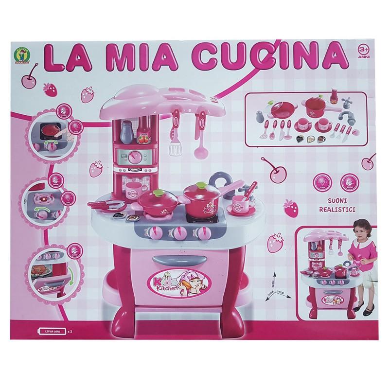 La Mia Cucina 31 Pezzi - Mazzeo Giocattoli - MazzeoGiocattoli.it