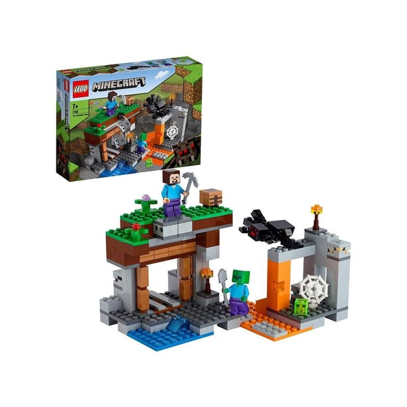 La Miniera Abbandonata Minecraft - Lego - MazzeoGiocattoli.it