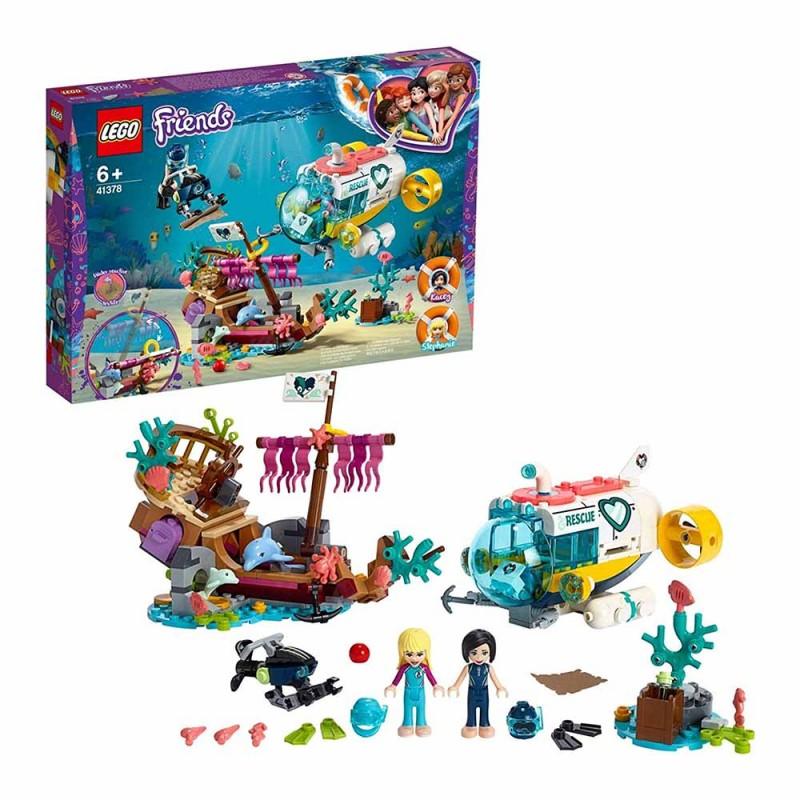 Lego La Missione Di Soccorso Dei Delfini - Lego - MazzeoGiocattoli.it