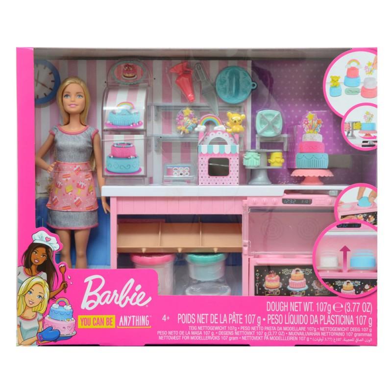 La Pasticceria Di Barbie - Mattel  - MazzeoGiocattoli.it