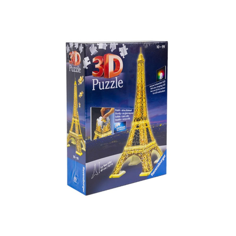 La Tour Eiffel Puzzle 3d Night Edition - MazzeoGiocattoli.it