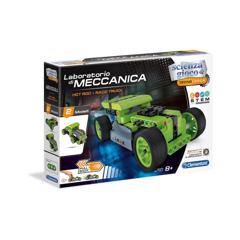 Laboratorio Di Meccanica - Hot Rod E Race Track - Clementoni  - MazzeoGiocattoli.it