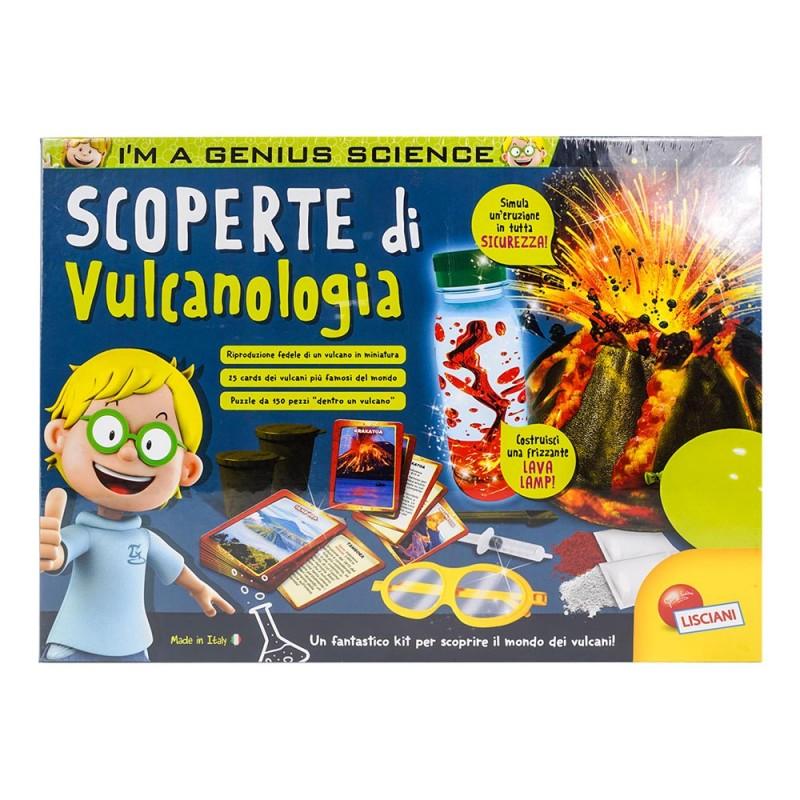 I'm Genius Scoperte Di Vulcanologia - Lisciani  - MazzeoGiocattoli.it