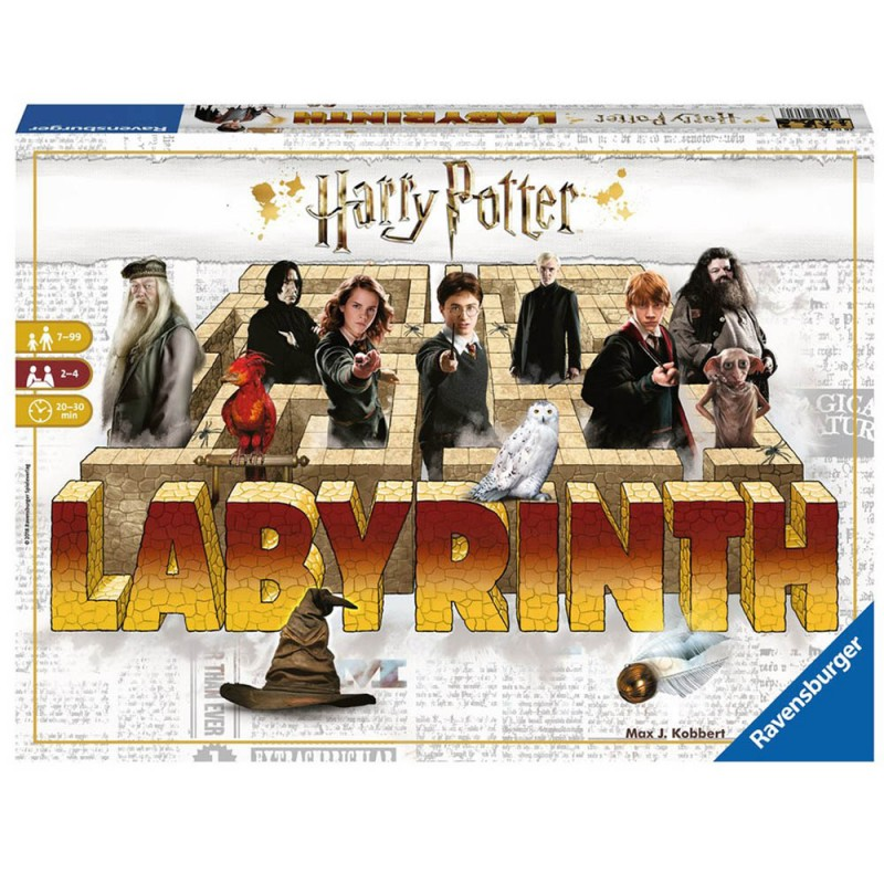 Gioco Labyrinth Harry Potter - Ravensburger - MazzeoGiocattoli.it