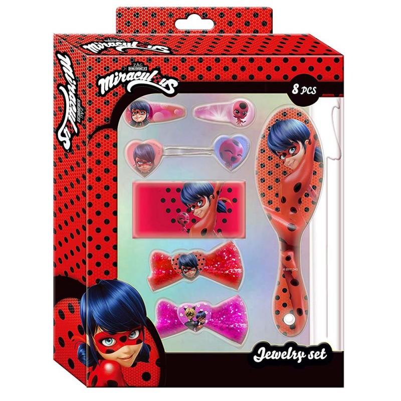 Ladybug Set Accessori Capelli 8 Pezzi - MazzeoGiocattoli.it