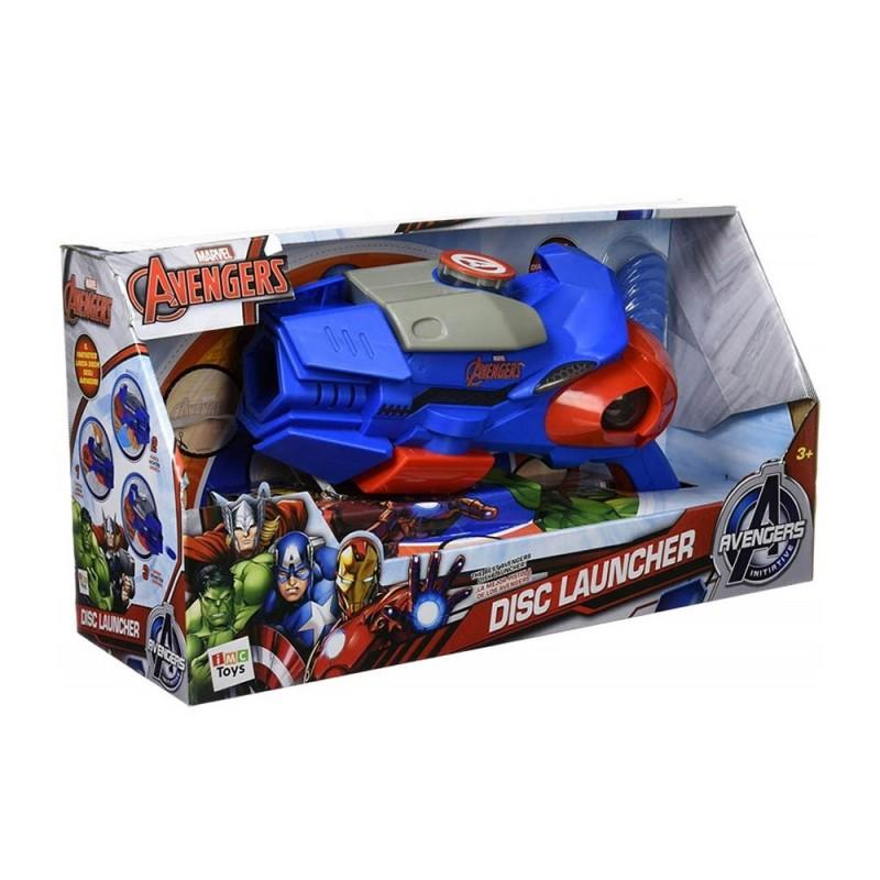 Lanciatore Di Dischi Avengers - Imc Toys  - MazzeoGiocattoli.it