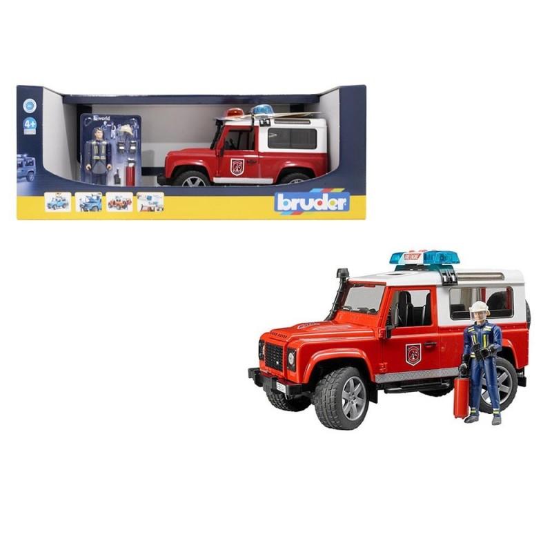 Land Rover Vigili Del Fuoco - Bruder  - MazzeoGiocattoli.it