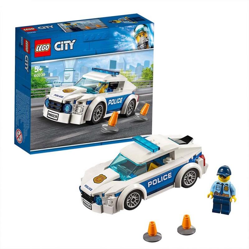 Lego City - Auto Di Pattuglia Della Polizia - 60239 - MazzeoGiocattoli.it