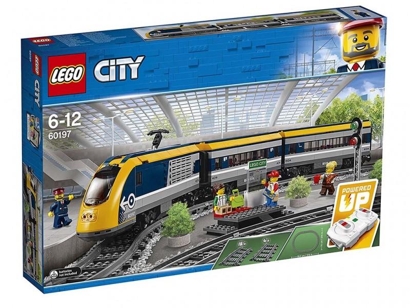 LEGO CITY TRENO PASSEGGERI 60197 - MazzeoGiocattoli.it