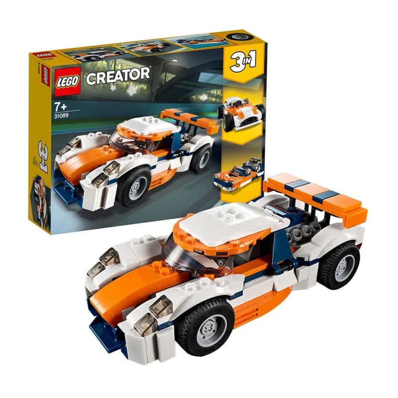 Auto Da Corsa, Set Di Costruzione 3 In 1 - LEGO Creator - MazzeoGiocattoli.it